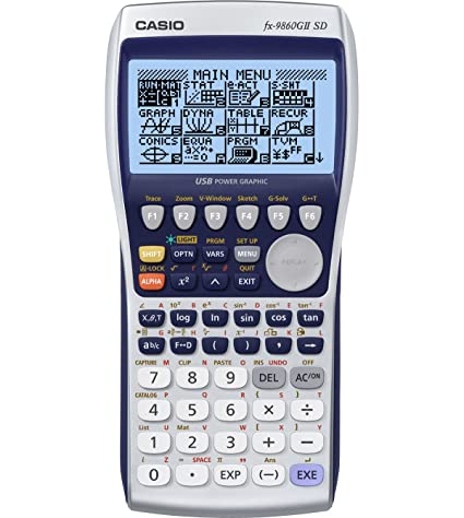 Amazon Casio FX 9860GII SD Power Graphic Calculator