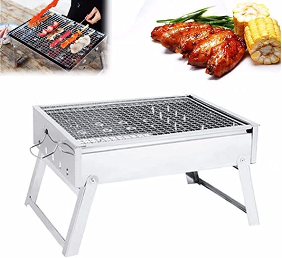 IPRee Portable Folding Charcoal Stove Barbecue Oven Cooking ...
