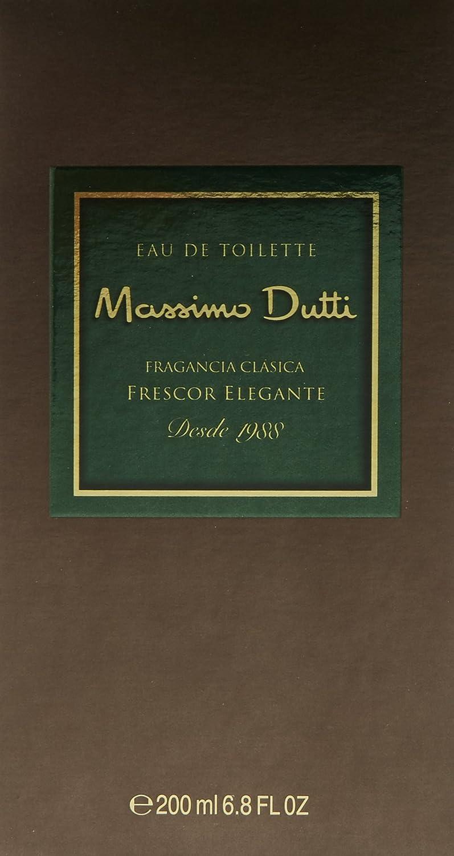 Massimo Dutti, Agua de tocador para hombres - 200 ml.