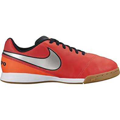 04e123e6ce8 Nike Youth Tiempo Legend VI Indoor Shoes - Light Crimson (1Y)