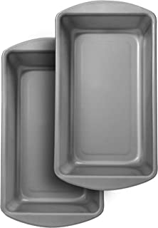 product image for G & S Metal Products Company OvenStuff Nonstick Large Loaf Baking Pan, Set of 2, Gray