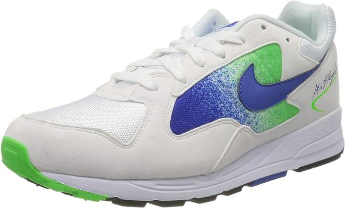 Nike Air Skylon II, Zapatillas para Hombre, White/Hyper Royal/Green Colores, 42 EU: Amazon.es: Zapatos y complementos