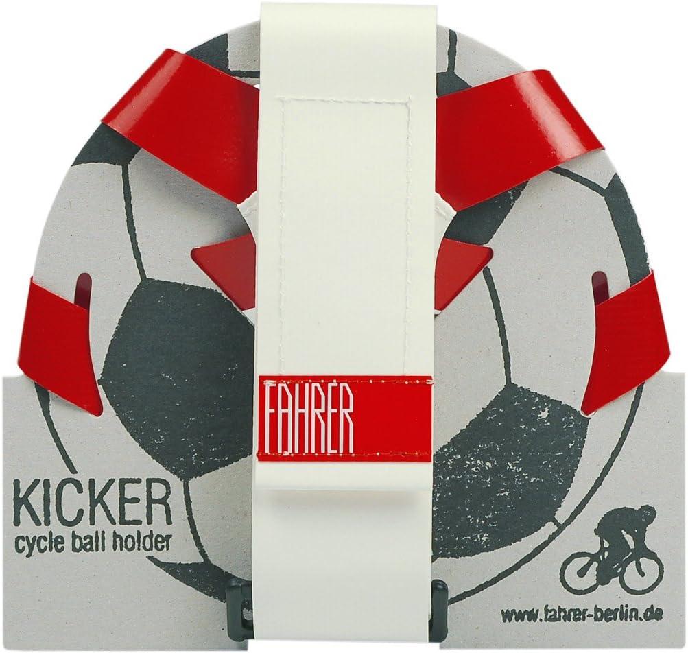 FAHRER Porte-Ballon Kicker Noir/Blanc: Amazon.es: Deportes y aire ...