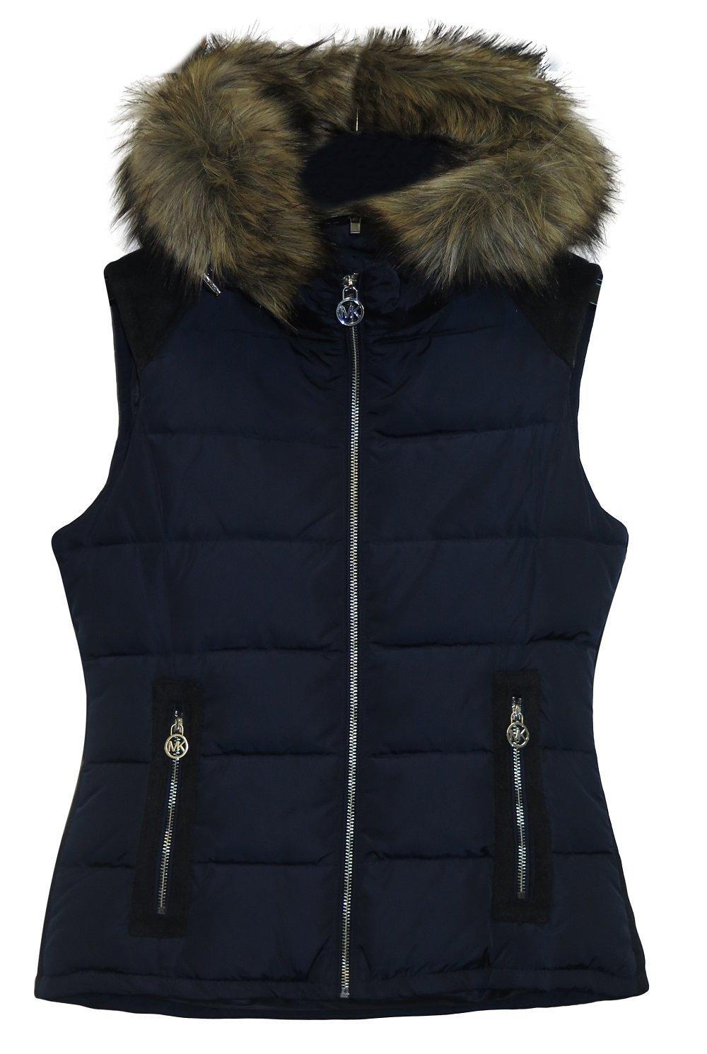 Michael Michael Kors Navy Puffer Vest (L)