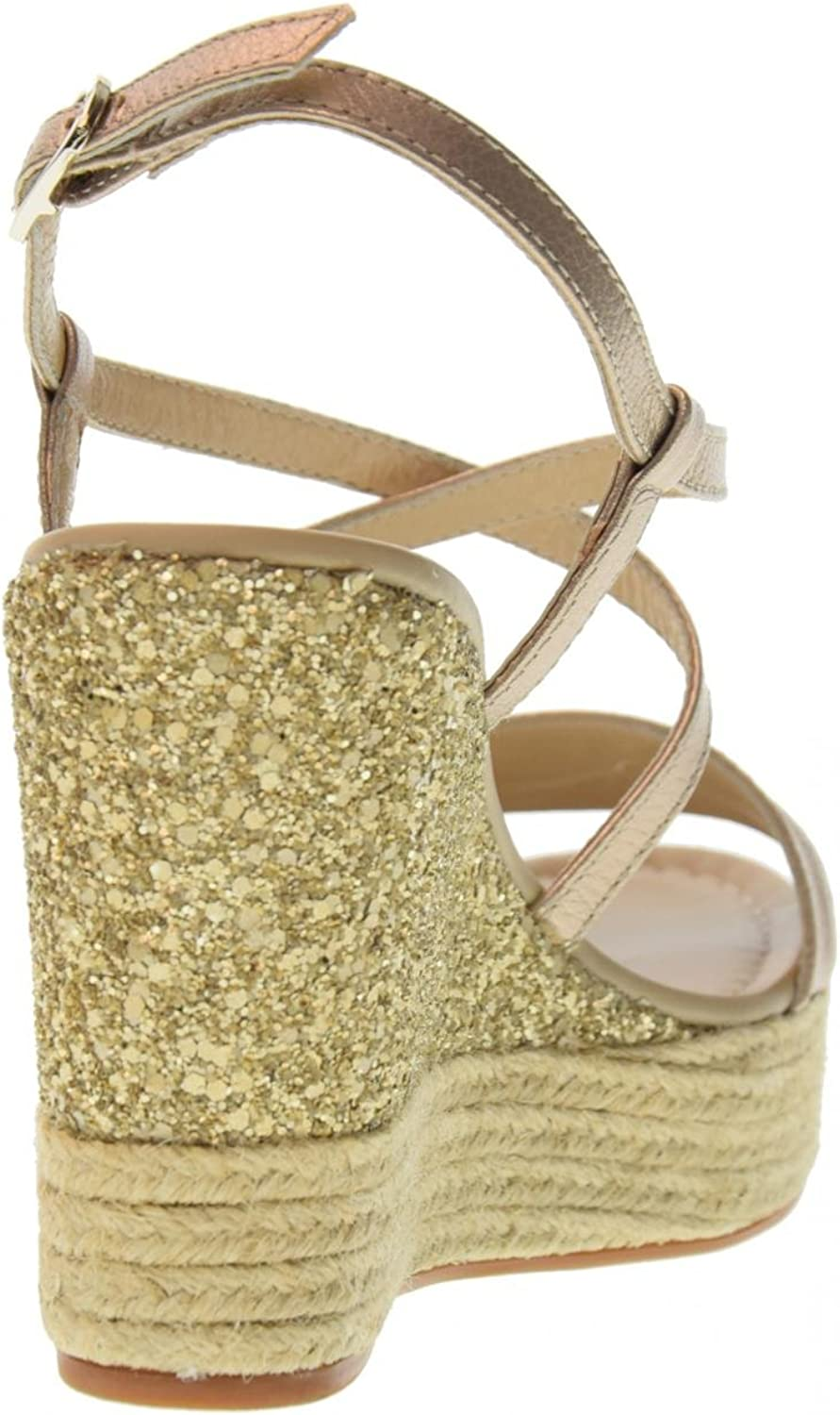 Nero Giardini Womens Shoes Wedge Sandals P805891D//672