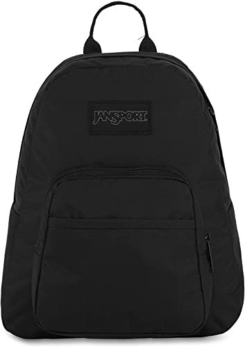 JanSport Mono Half-Pint Backpack – Black, ONESZ