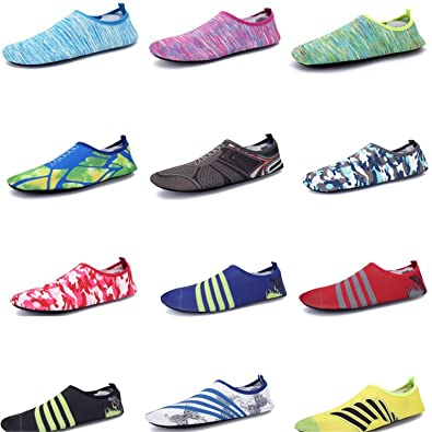 AiWoo Outdoor Safety Beach Shoes Lightweight Swimming Shoes Non-Slip Diving Snorkeling Shoes Wading Shoes Drifting Skin