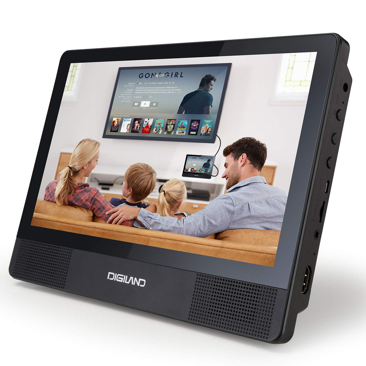 DigiLand DVD Player/Tablet Combo}