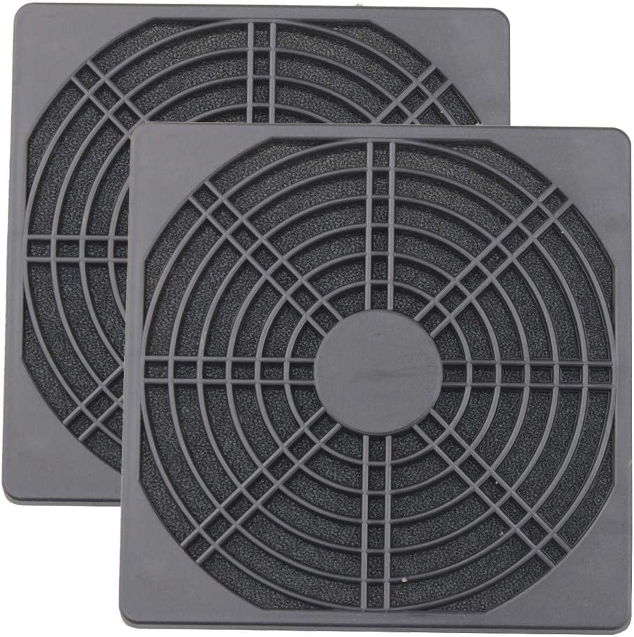 Wathai 2 Pack 120mm PC Fan Dust Filter Cover Computer Mess