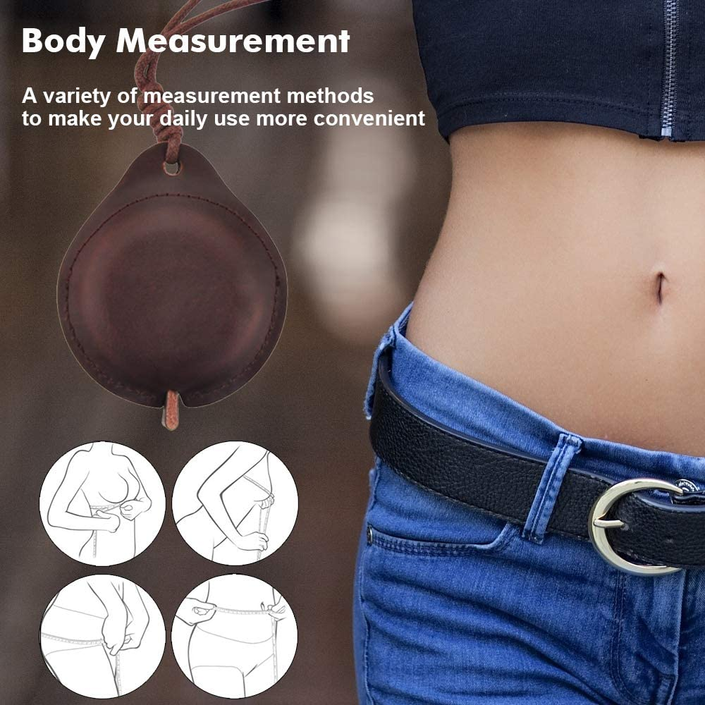 Tape Measure for Body Sewing Fabric Tailor Cloth Craft Medical Measurement Tape,60 Inch//1.5M Dual Sided Sewing Measure Tape Edtape Crazy Horse Leather Tape Measure Measuring Tape for Body