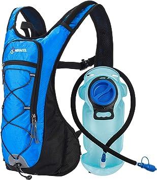 Amazon.com: Mochila de hidratación MIRACOL con bolsa de ...