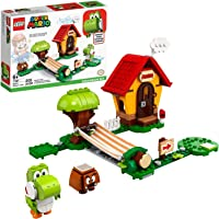 LEGO Super Mario Mario's House & Yoshi Expansion Set 71367 Building Kit, Collectible Toy to Combine with The Super Mario…