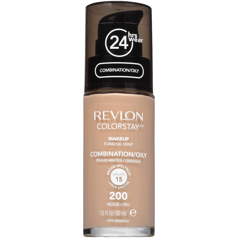 Revlon ColorStay Makeup, Combination/Oily Skin, Nude, 1 Ounce 200 Nude