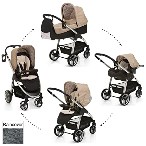 Hauck Lacrosse All in One Travel System - Cochecito de 2 ...
