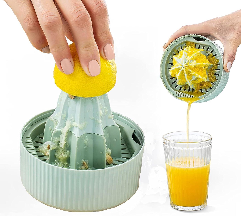 Sovolee Citrus Lemon Orange Juicer Manual Hand Squeezer & Food Processor for Fruits, Vegetables, Nuts, Ginger