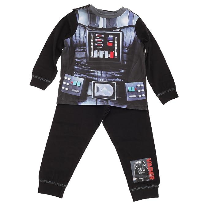 Star Wars - Conjunto de Pijama de Darth Vader para niños (2-3 años