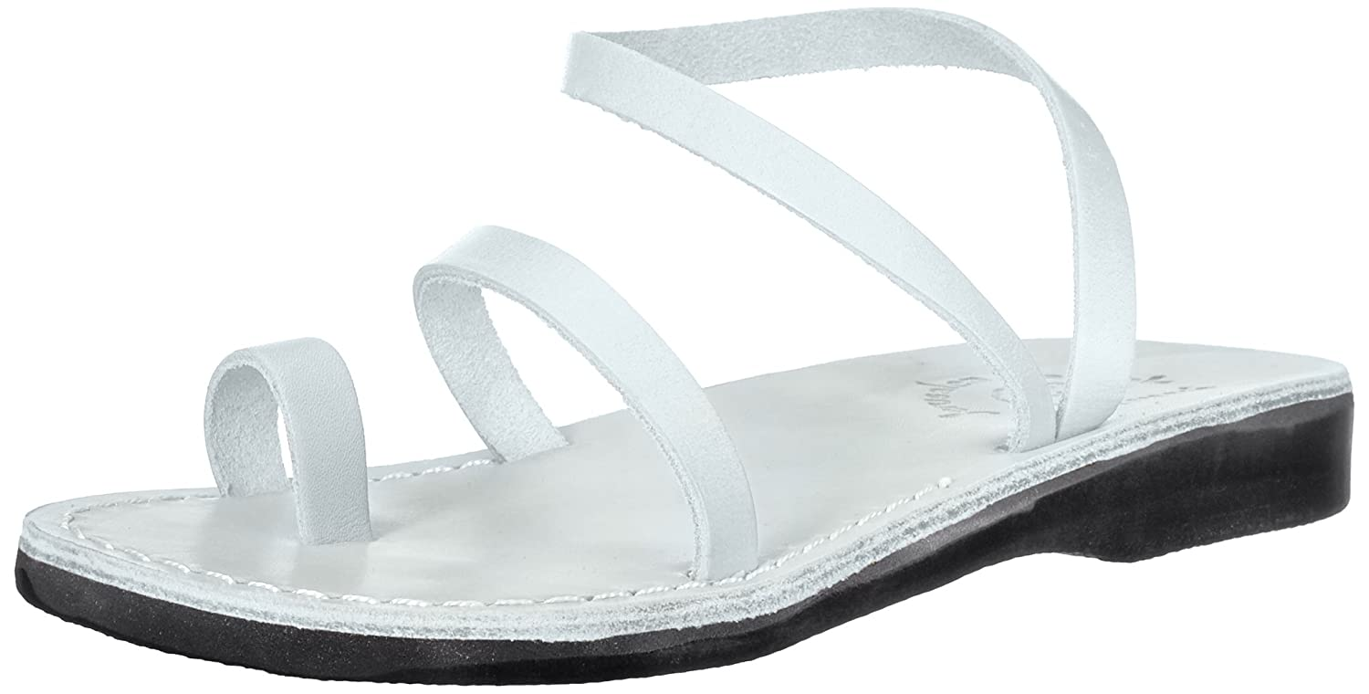 Jerusalem Sandals Women's Ella Sandal B075LBNJW6 40 Medium EU (9-9.5 US)|White