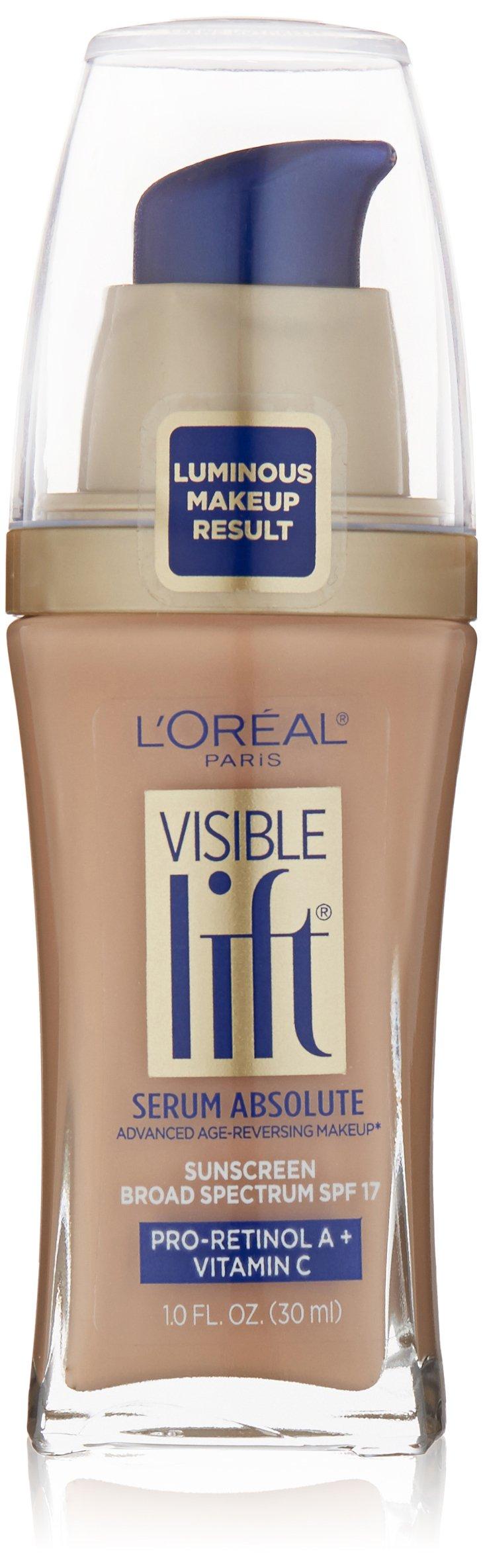 L'Oréal Paris Visible Lift Serum Absolute Foundation, Creamy Natural, 1 fl. oz.