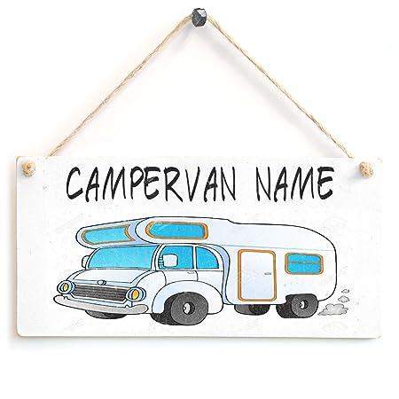 Caravana - nombres/familia nombre personalizado cartel de ...