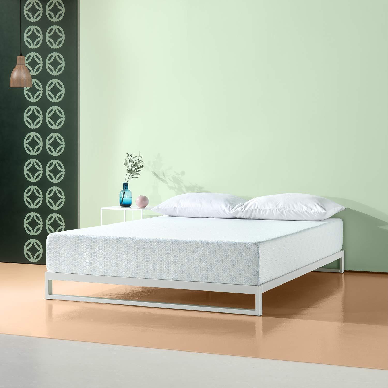 Zinus 10 Inch Gel-Infused Green Tea Memory Foam Mattress, Queen