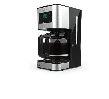 Cecotec Cafetera de Goteo Coffee 66 Smart. Programable con Tecnología ExtemAroma, Función AutoClean
