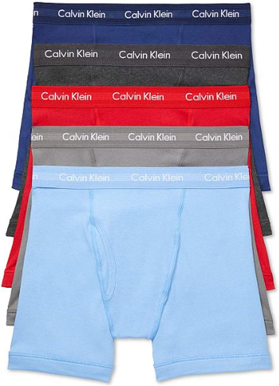 Calvin Klein - Calzoncillos tipo bóxer de algodón para hombre - Multi - X-Large: Amazon.es: Ropa y accesorios