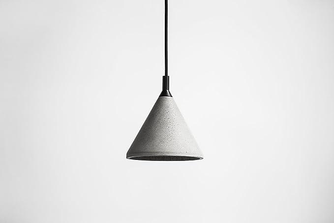 Lampada In Cemento Fai Da Te : Bentu cemento calcestruzzo lampada lampada da soffitto a sospensione