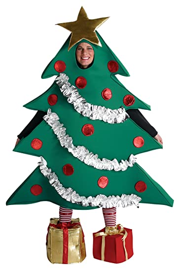 Amazon.com: Rasta Imposta Christmas Tree Outfit Holiday Funny Theme Party  Fancy Dress Adult Costume, OS: Clothing - Amazon.com: Rasta Imposta Christmas Tree Outfit Holiday Funny Theme