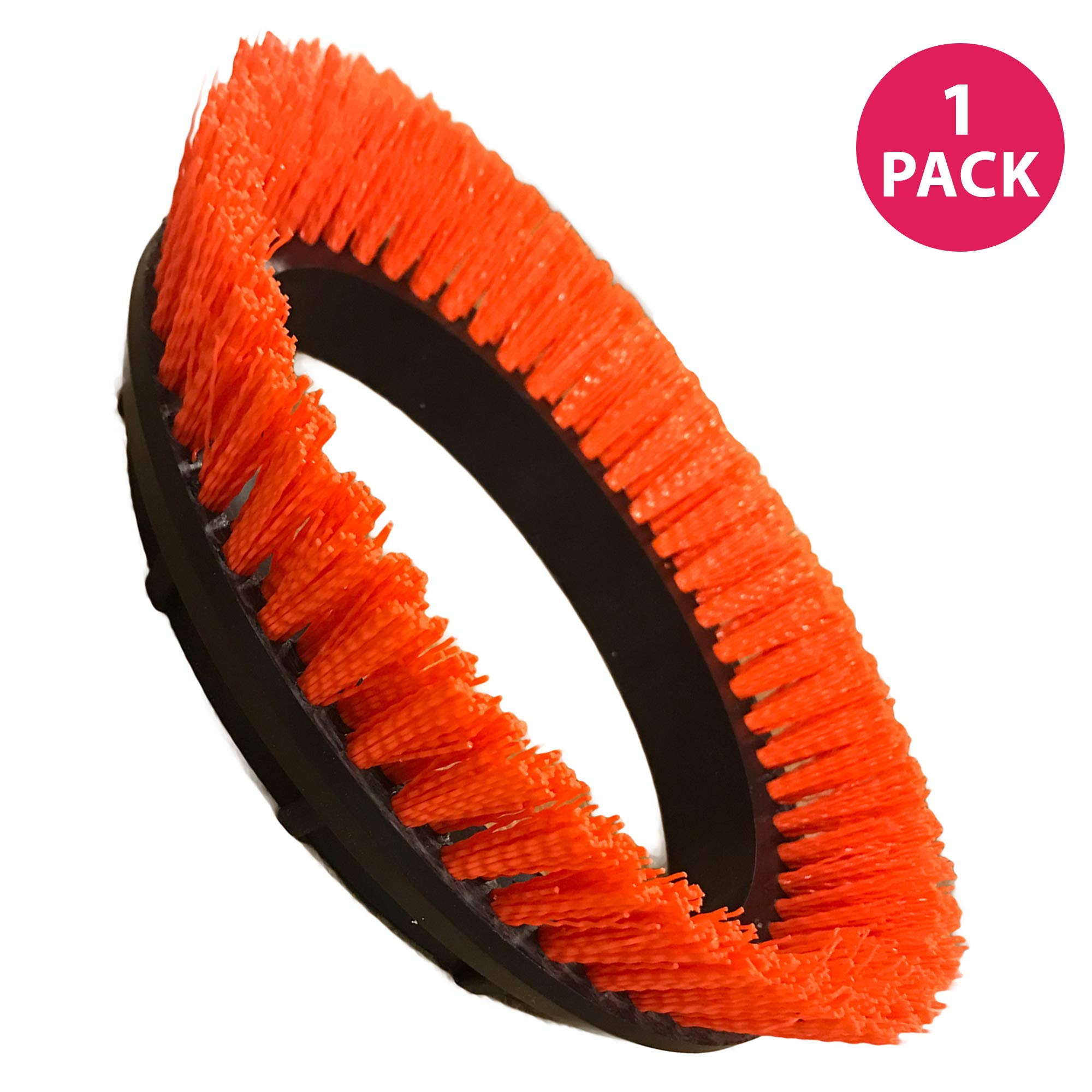 Think Crucial Replacement Crimped Polypropylene Scrub Orbiter Brush for Oreck Commercial 550MC ORB550MC Orbiter Floor Machine, 12'' Diameter, 0.028'', Replace Part # 237047, (1 Pack) by Think Crucial