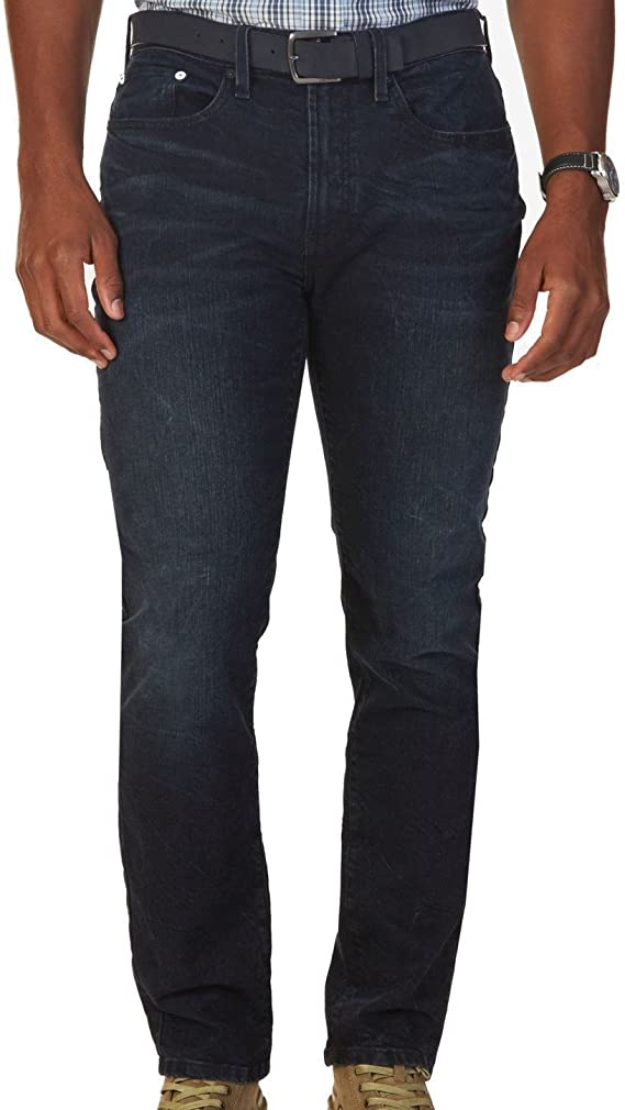 BUFFALO Mens Straight Leg Stretch Fabrication Jean