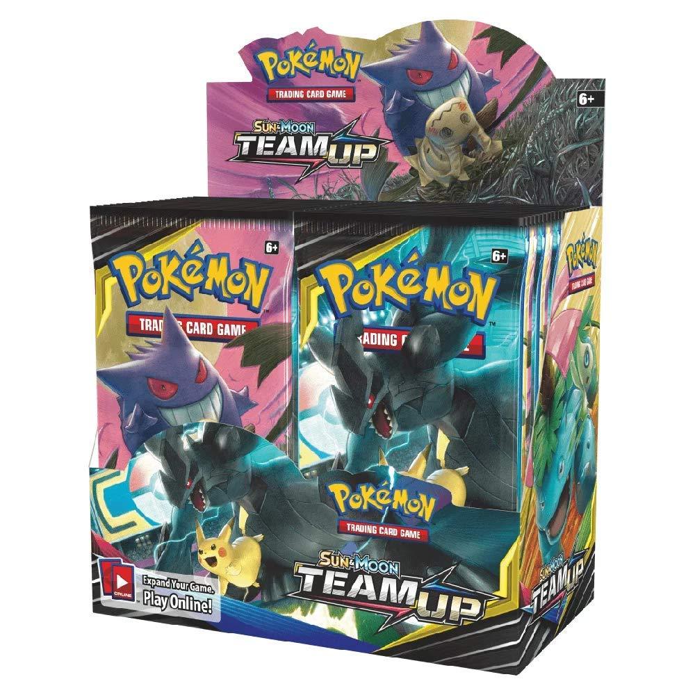 36 Packs Pokemon Sun /& Moon Lost Thunder GX TCG Booster Box Karten