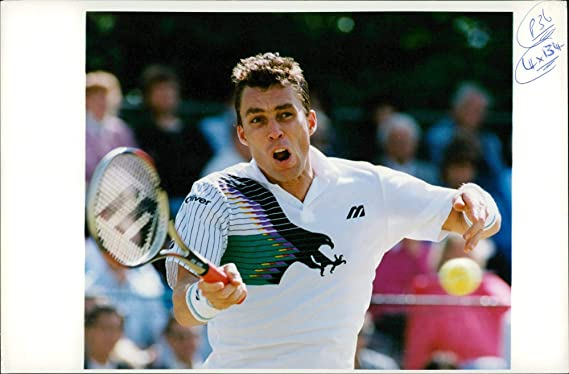 Amazon.com: Vintage photo of Tennis Player Ivan Lendl: Entertainment Collectibles