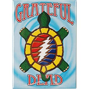 "GRATEFUL DEAD GDP Inc. TERRAPIN, Officially Licensed, 2.5"" x 3.5"" - Premium Quality Magnet"