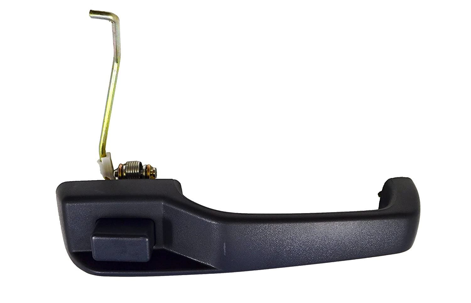 Passenger Side Front Outside Exterior Outer Door Handle Textured Black PT Auto Warehouse CH-3811A-FR