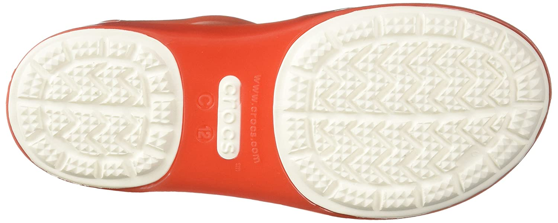 Crocs Kids Isabella Sandals Drew Barrymore Print in Orange 205199 6OG