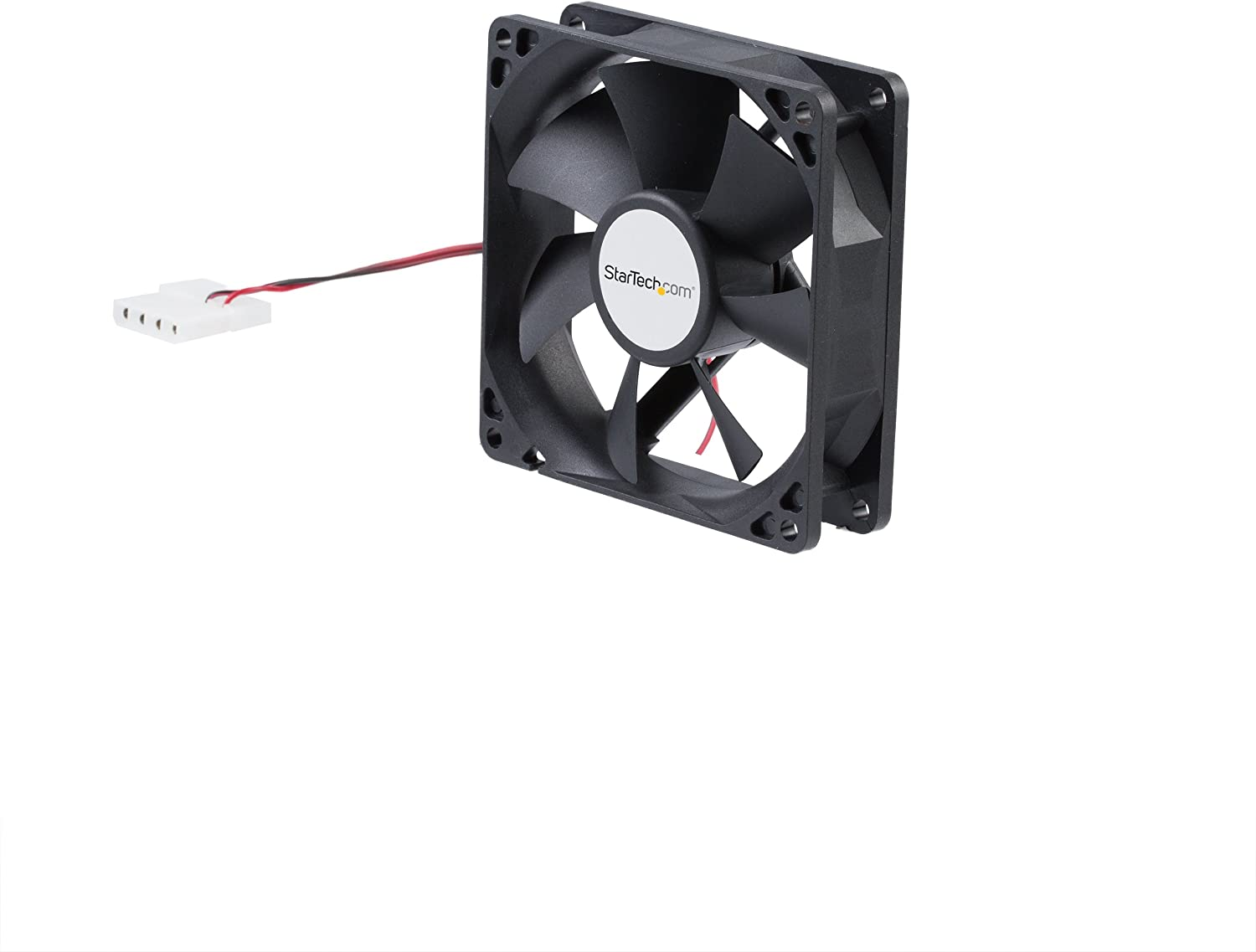 StarTech.com 92x25mm Dual Ball Bearing Computer Case Fan w/ LP4 Connector - 90mm Fan - computer case Fan - pc Fan (FANBOX92)