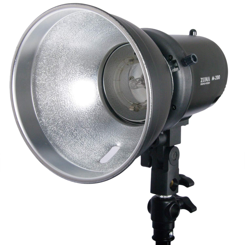 ZUMA 200 with S Monolight with Reflector, Black (Z-M200)