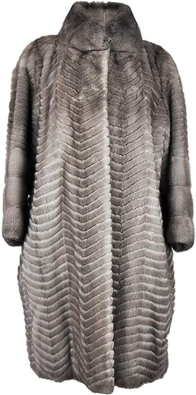Zerimar Abrigo Largo Vison Peletería   Abrigo Largo de Pelo   Abrigo Mujer   Abrigo de Pelo   Abrigo de Mujer de Pelo   Abrigo Elegante Mujer