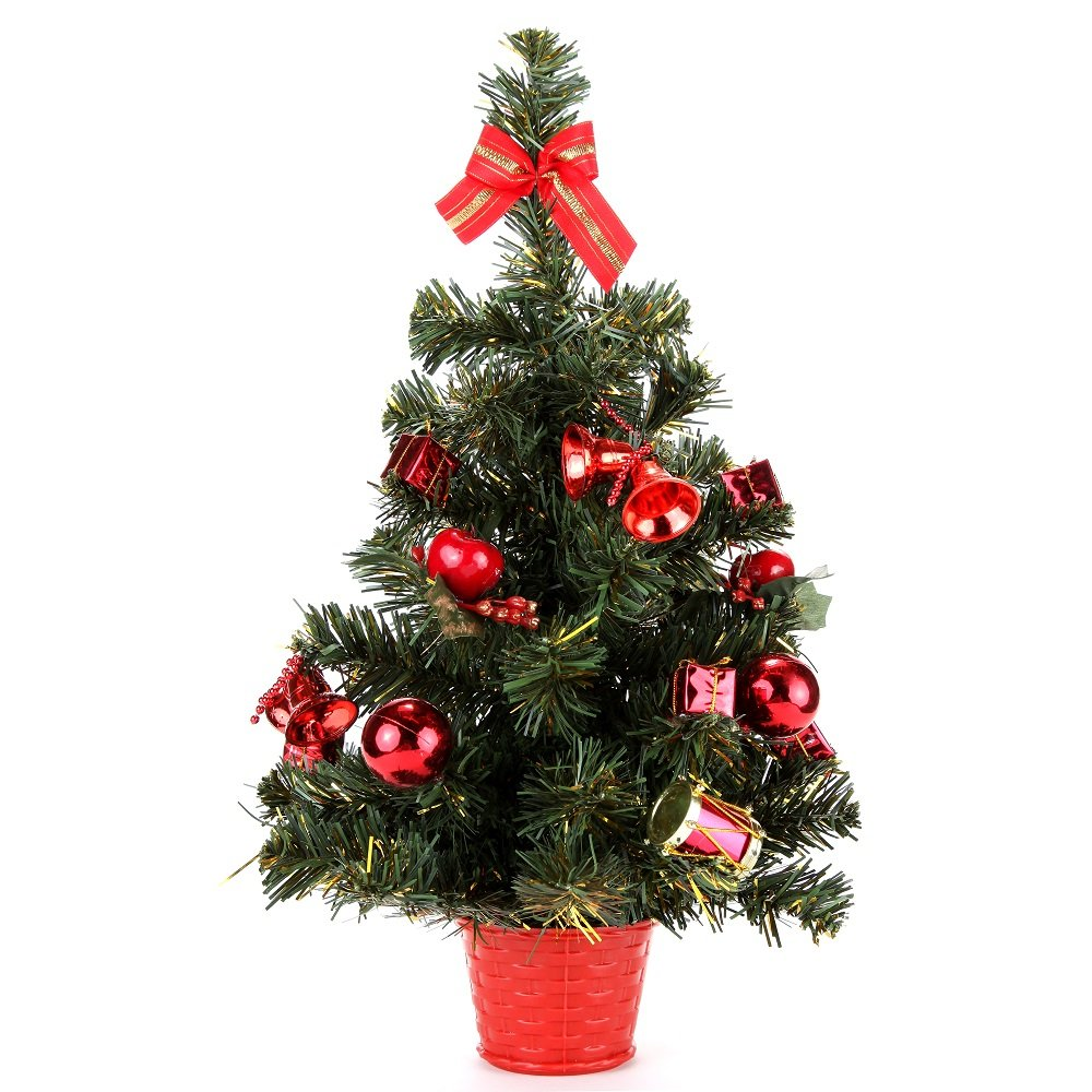 Tabletop artificial christmas trees unique christmas for Different xmas decorations
