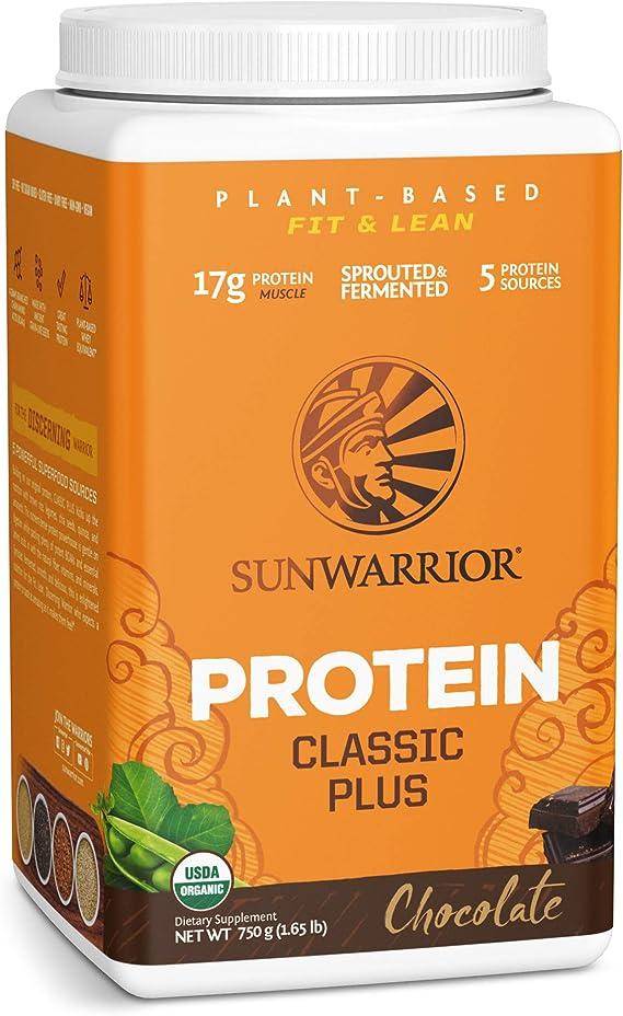 Sunwarrior Classic Plus Chocolate - 750 gr