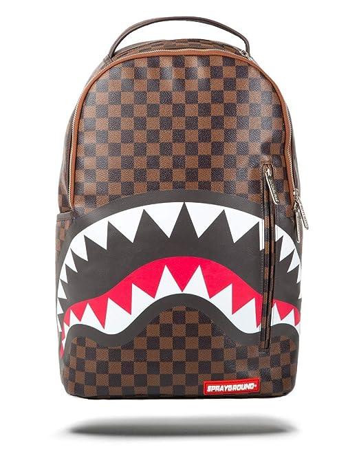 d98bc27d8d Sprayground - Zaino Shark in Paris Mini Brown: Amazon.it: Abbigliamento