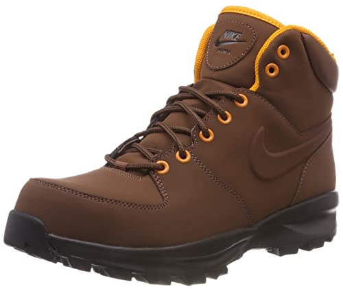 6a8e5abc8 Nike Manoa Leather, Stivali da Escursionismo Alti Uomo, Multicolore Fauna  Brown 203, 40