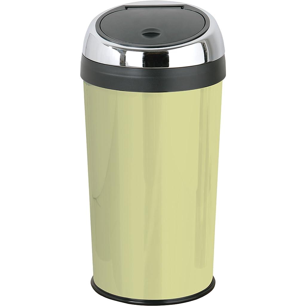 Premier Housewares Olive Green Push Top Bin 30 Litre
