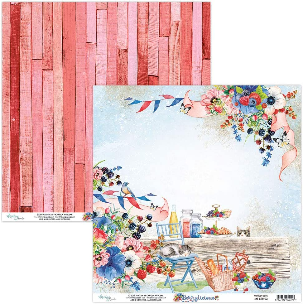 Berrylicious MTY Paper Pad 12x12