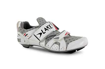 Lake TX212 – Zapatillas de triatlón zapatos blanco/negro 42