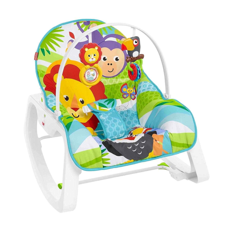 Mattel HBF26 regalo para beb/és Fisher-Price Balanc/ín crece conmigo estampado selva