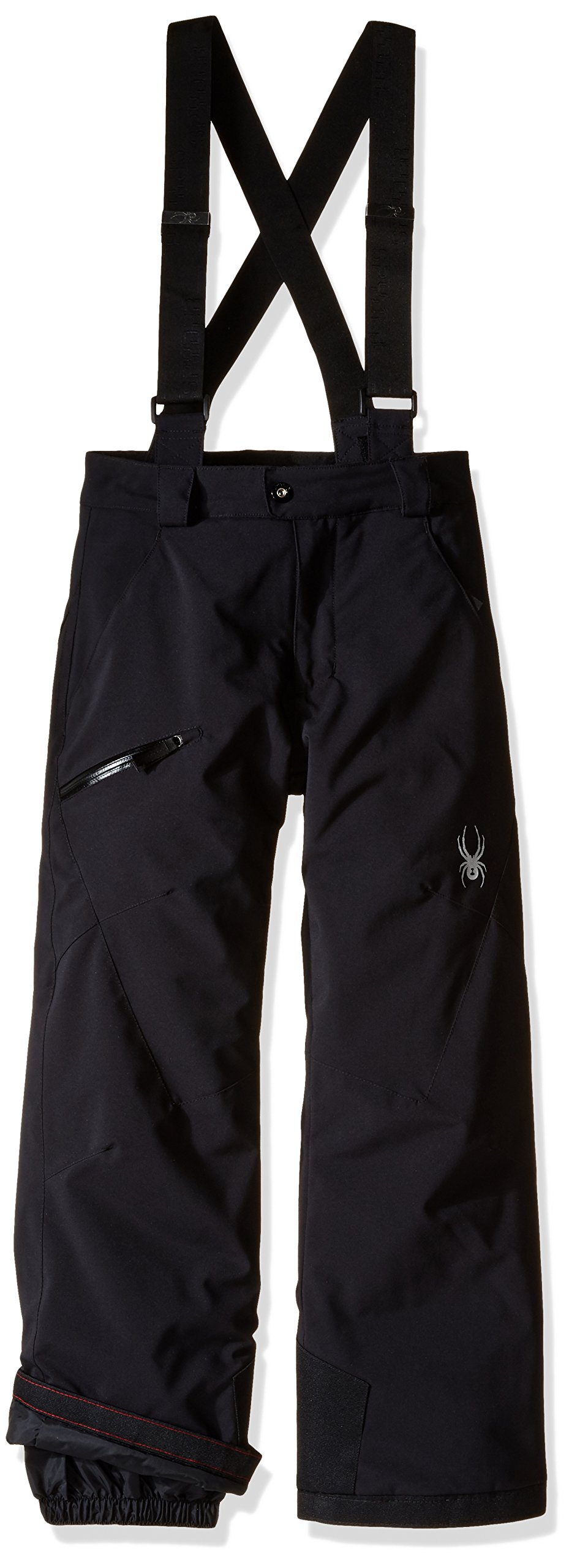 Spyder Boys Propulsion Pants, Size 18, Black by Spyder