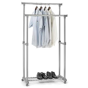Con ropa interior de armario con ruedas GROSSO, altura regulable: Amazon.es: Hogar