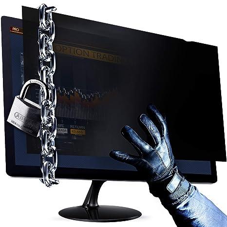 23.0 Inch Privacy Screen Filter for Widescreen Computer Monitor 16:9 Aspect Ratio Premium Anti Glare Protection for data confidentiality - 23W9