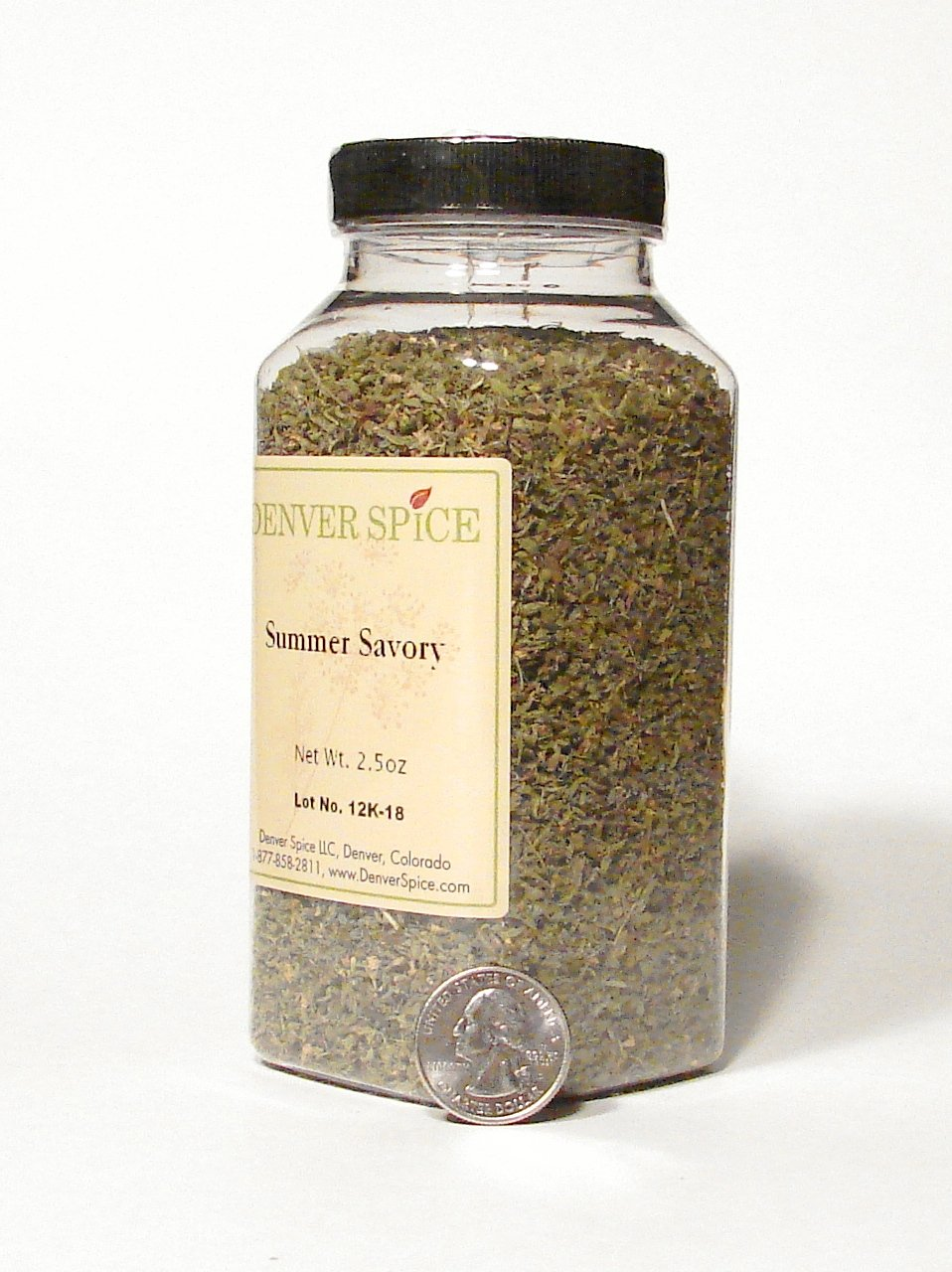 Summer Savory-Large Clear Easy Grip Jar